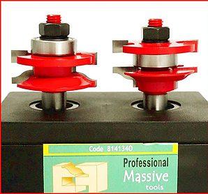 Kontraprofil maró 2db/szett / Reversible Rail & Stile bits set